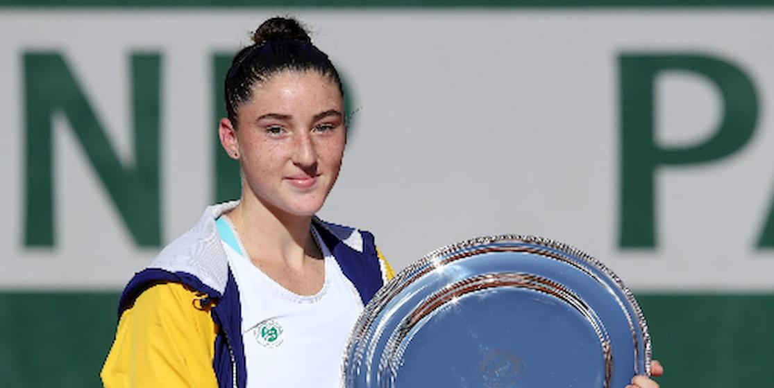 Elsa Jacquemot gagnante de Roland-Garros junior