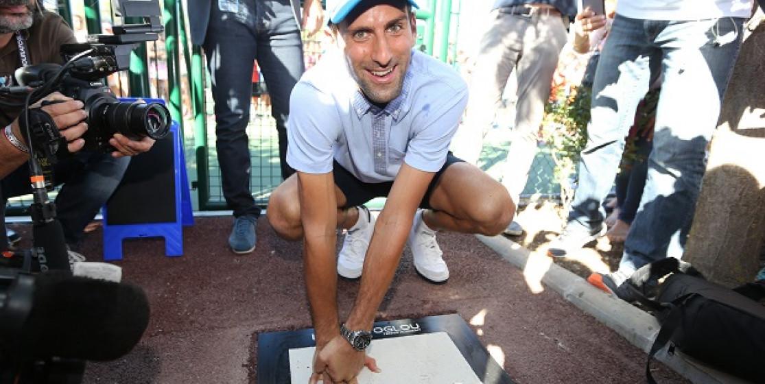Djokovic, relaxing holidays