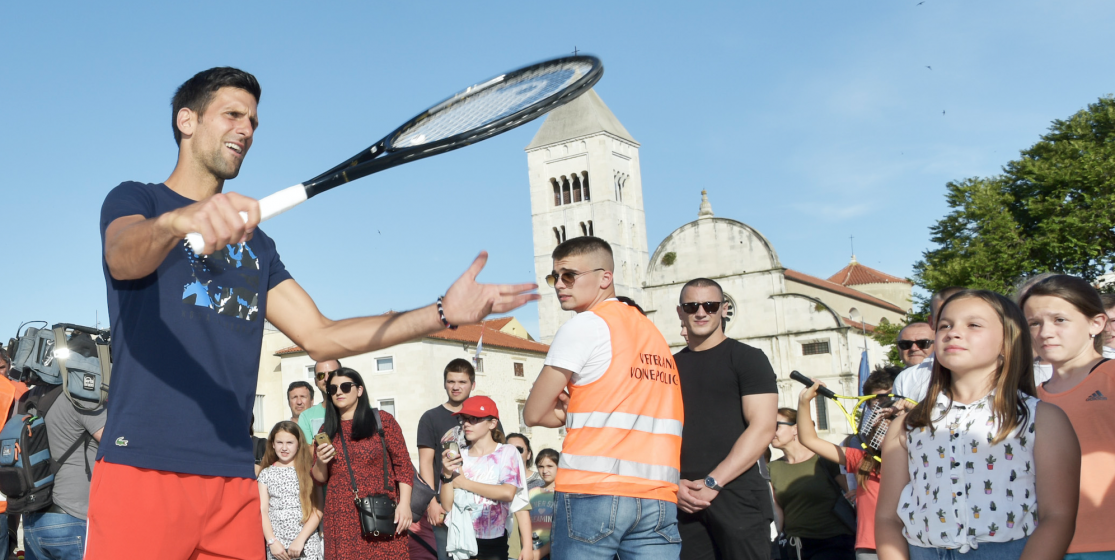 The tennis news (but not only) of the week: Djokovic and a bear attack
