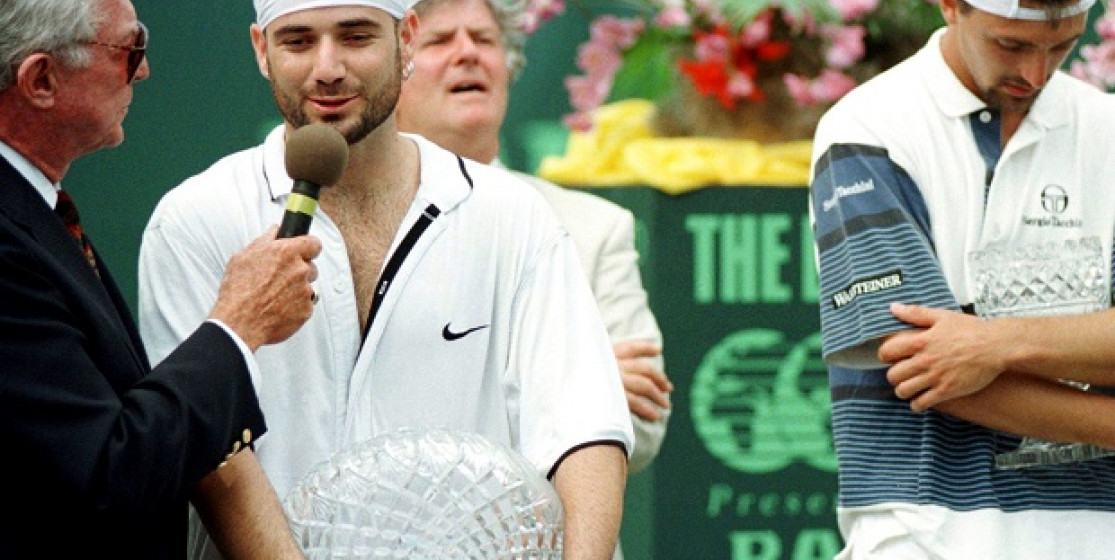 Inside Agassi's life in Miami