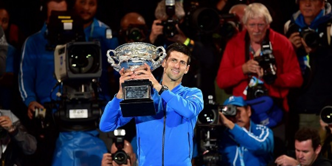 DJOKOVIC CLAIMS FIFTH IN MELBOURNE