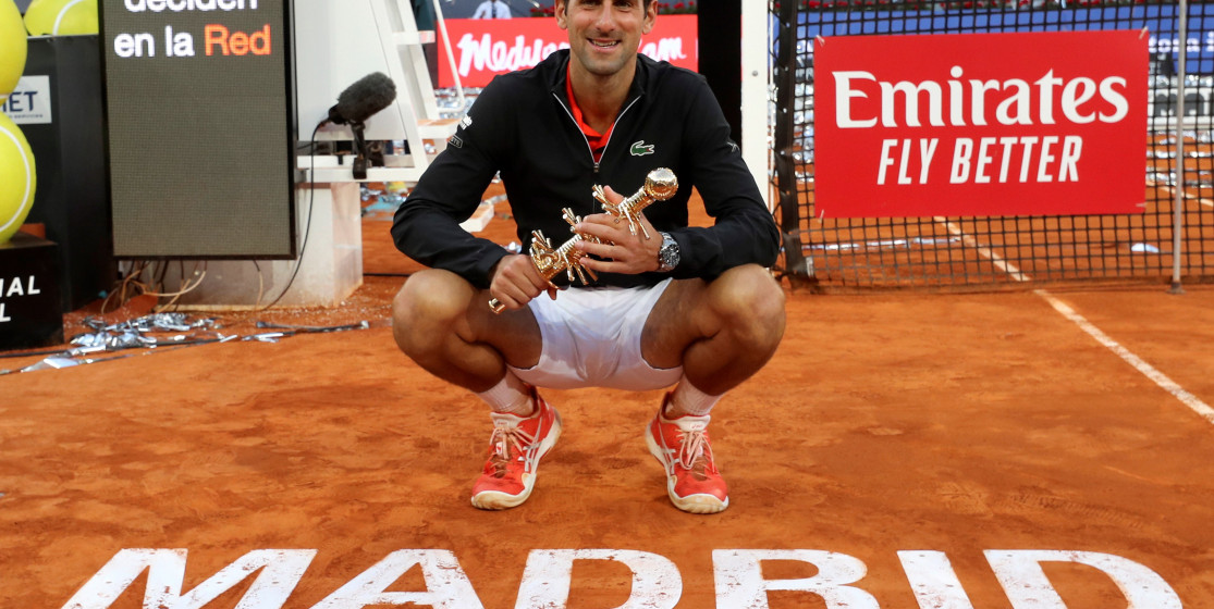 The tennis news (but not only) of the week: Djokovic and a fast pigeon
