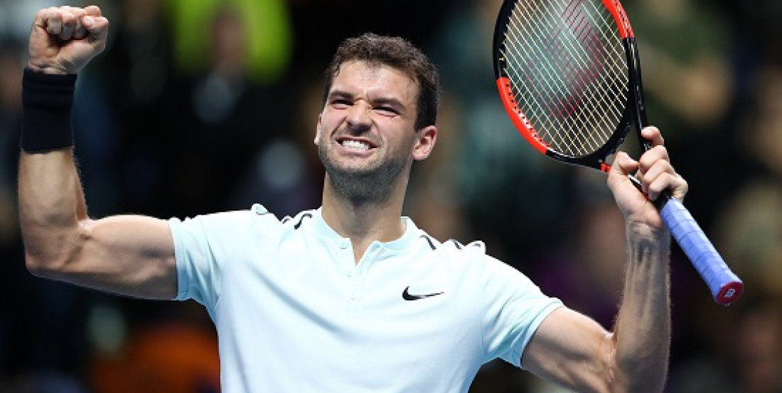 GRIGOR DIMITROV IS A GREAT PLAYER AND A TOP GUY