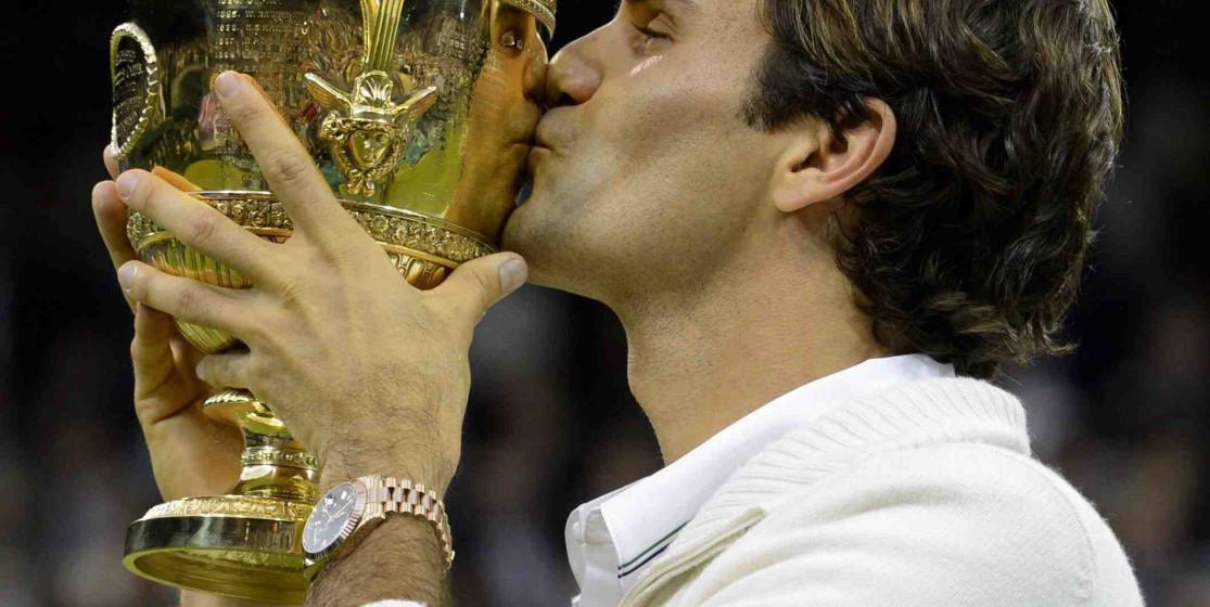 Un 8e Wimbledon pour Roger Federer