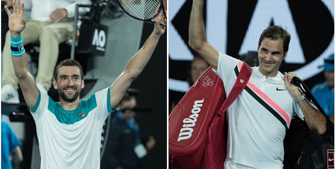 FEDERER AND CILIC PLAY AUSSIE OPEN FINAL