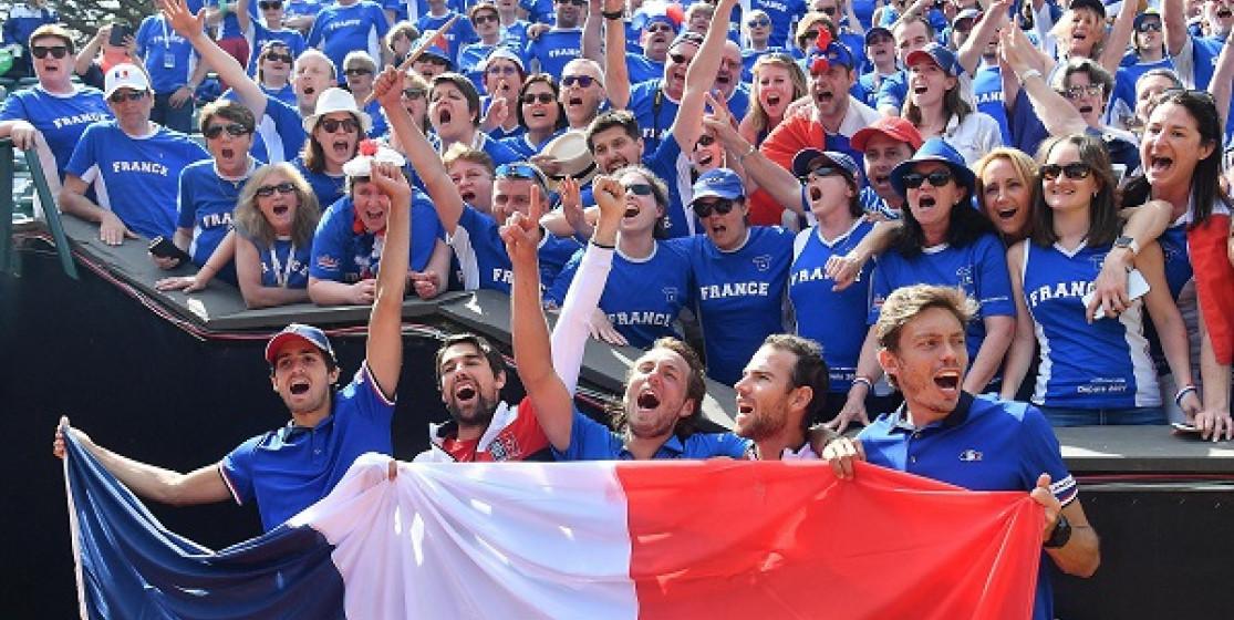FRANCE, SPAIN, USA, CROATIA IN DAVIS CUP FINAL 4