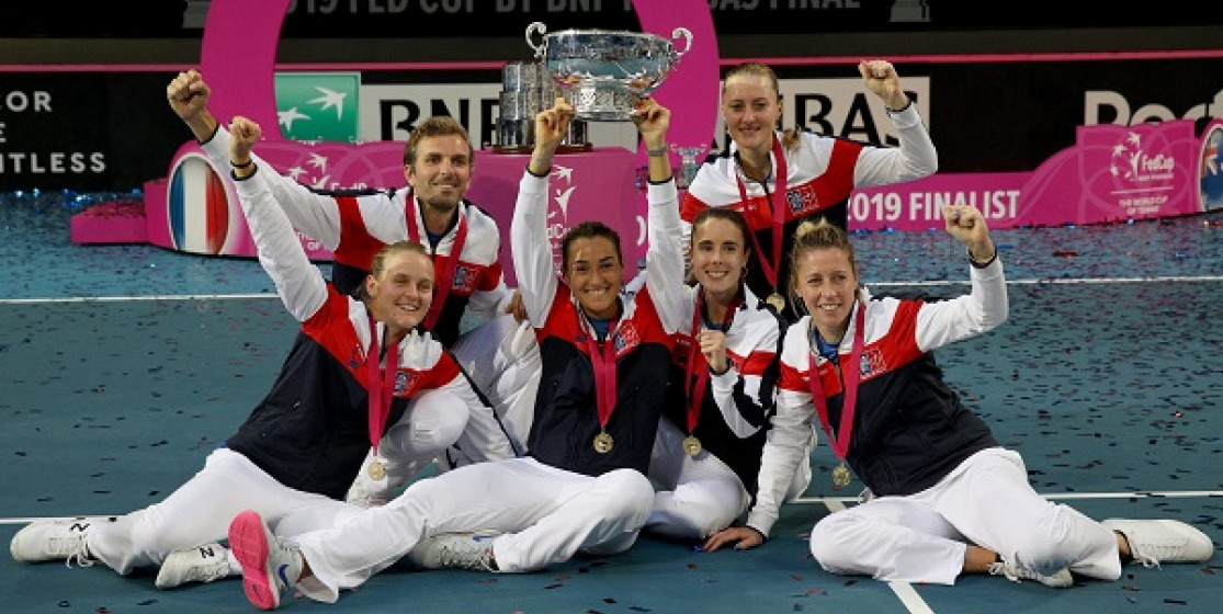 FED CUP BY BNP PARIBAS WON BY FRANCE