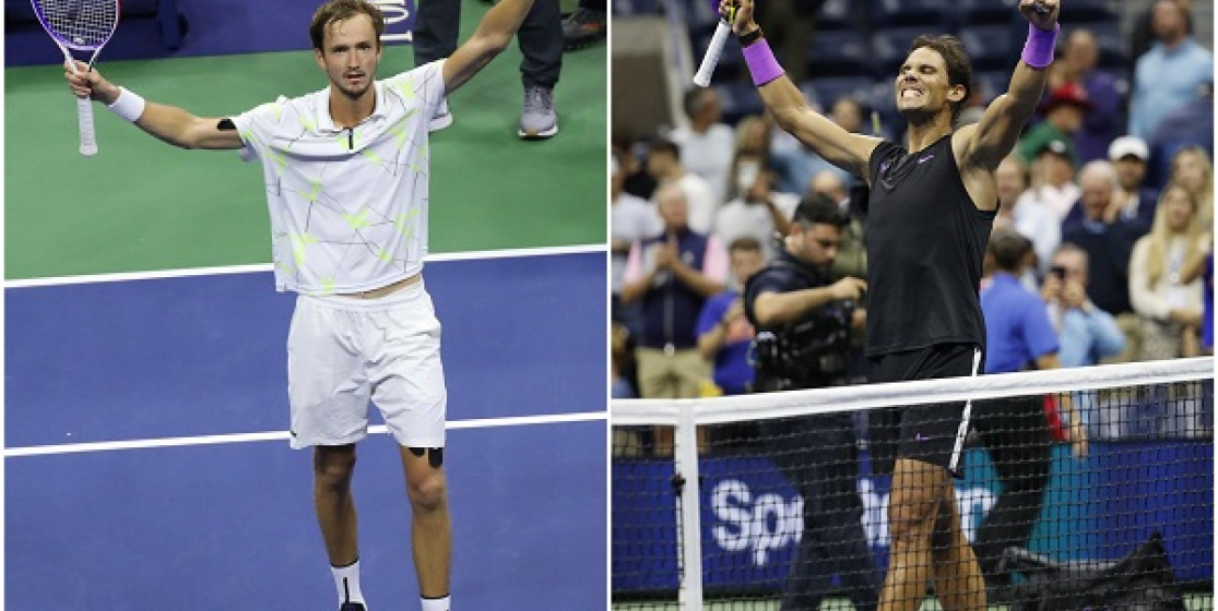 NADAL AND MEDVEDEV TO PLAY US OPEN FINAL