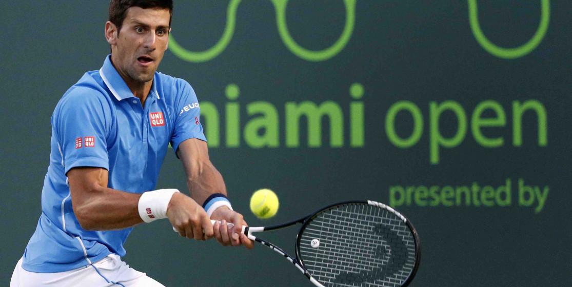 Novak Djokovic fait peur au ramasseur