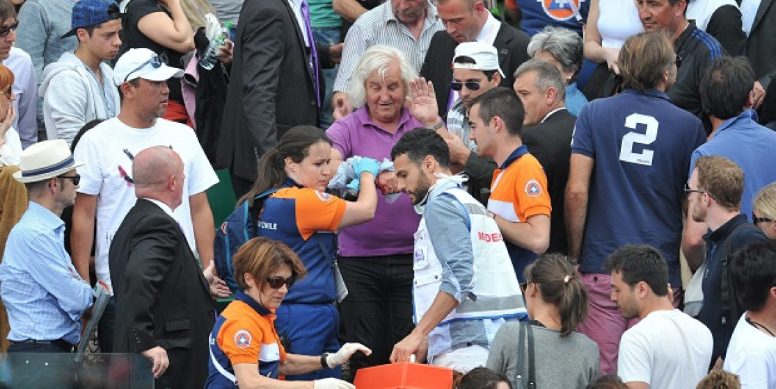 Top 5: It happened in the stands of the French Open