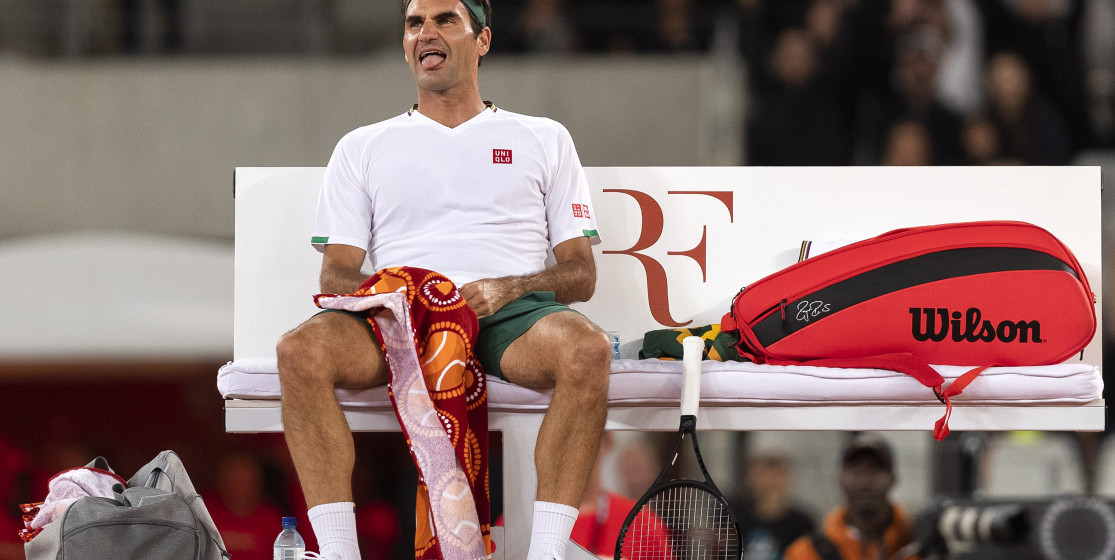 The tennis news (but not only) of the week: Federer, Totti and an overdose of licorice
