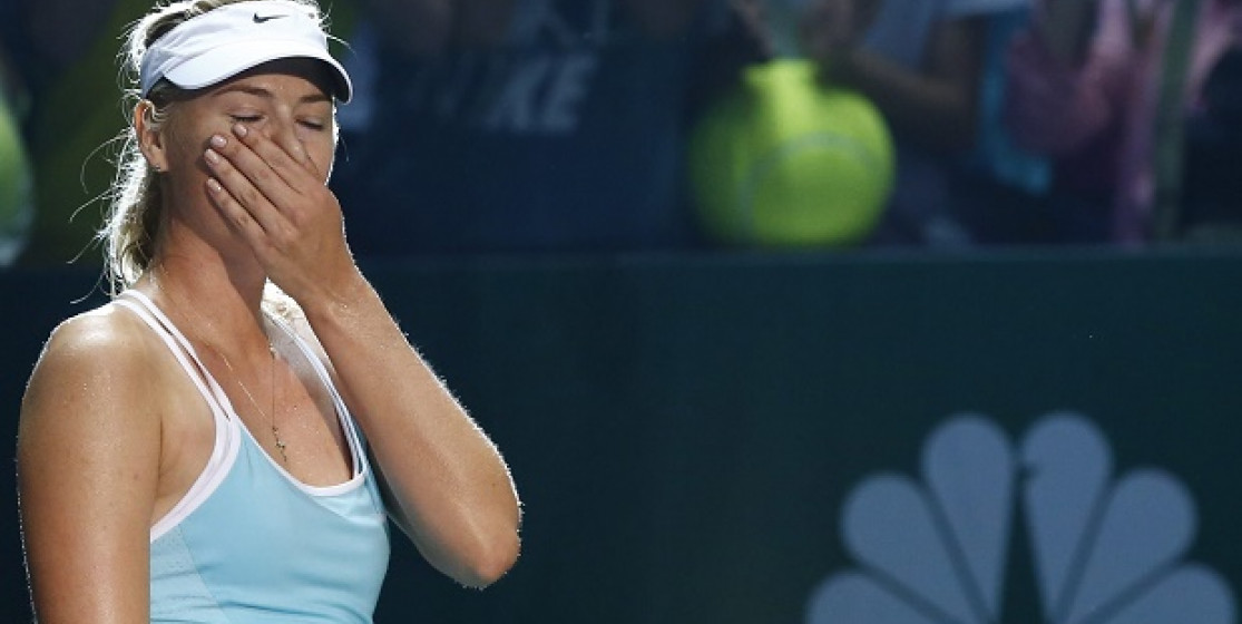 Sharapova, stronger than injuries