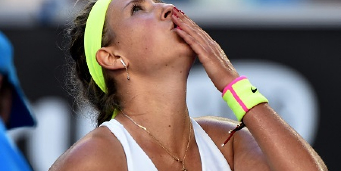 IS AZARENKA TRYING TOO HARD TO BE LIKED?