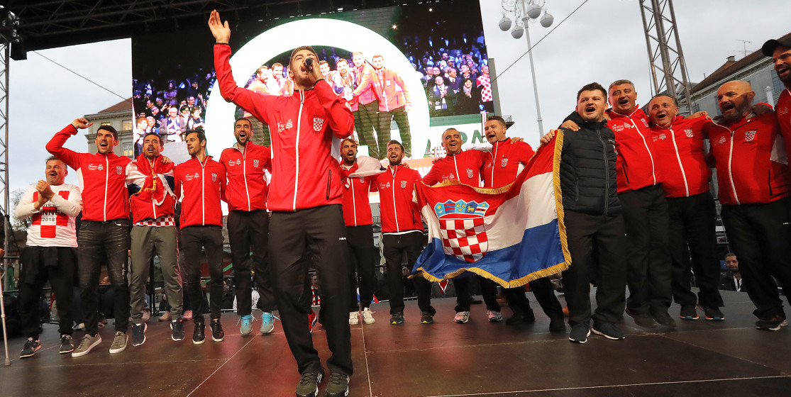 The tennis news (but not only) of the week: Croatia's revenge
