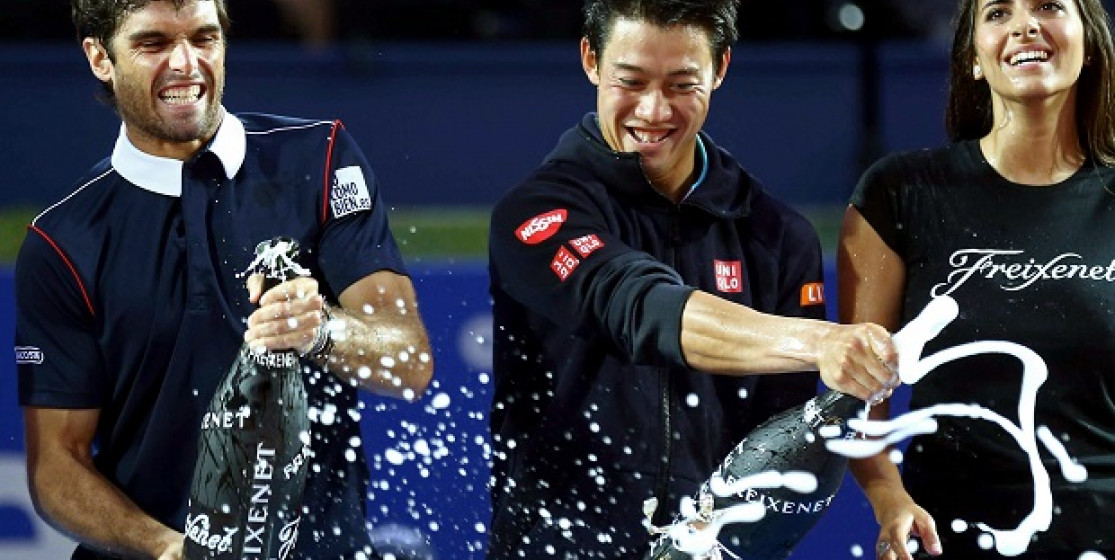 Nishikori, king of Barcelona