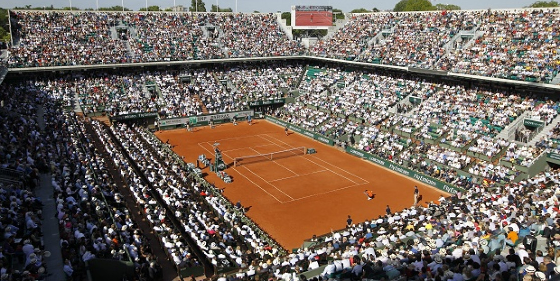 You know when it's the final of Roland-Garros (and not another Grand Slam) when…