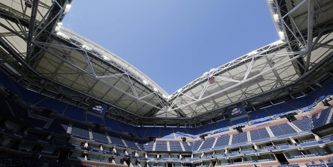 RAISING THE ROOF AT THE US OPEN