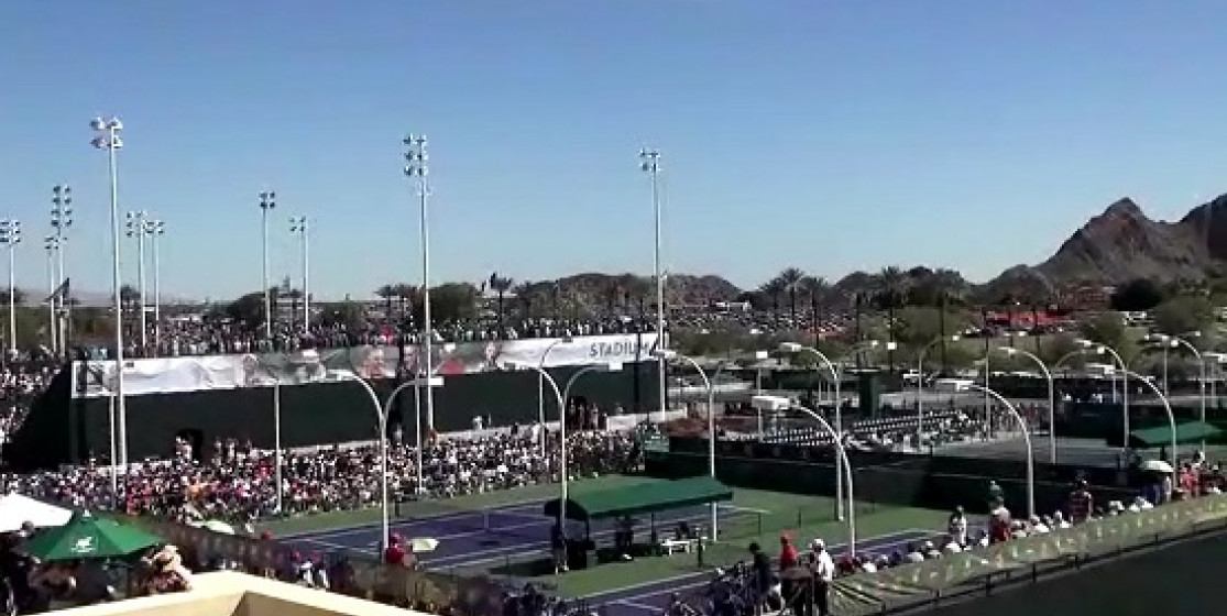 THE BEAUTY OF INDIAN WELLS