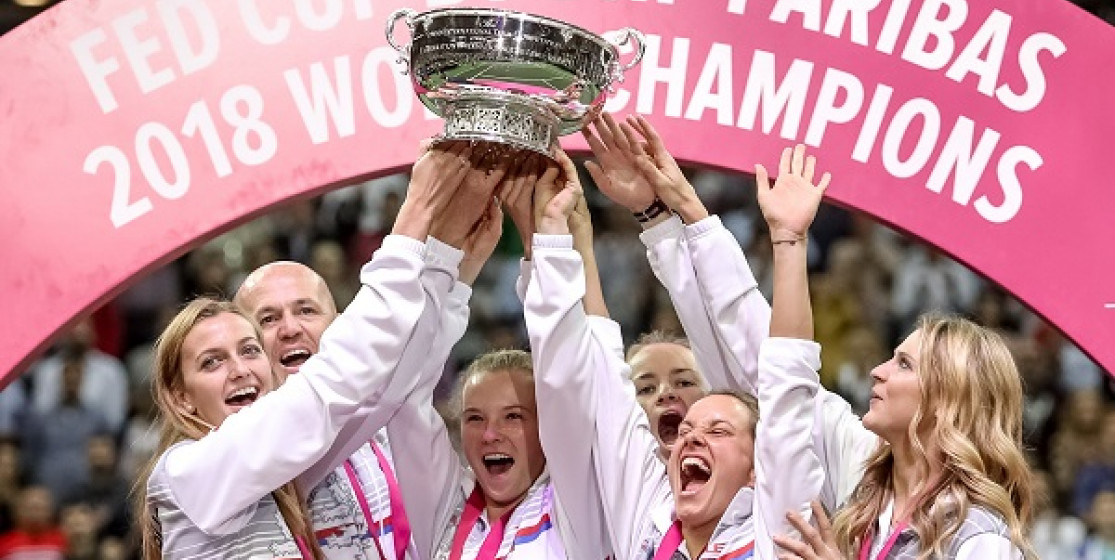 CZECHS WIN FED CUP BY BNP PARIBAS