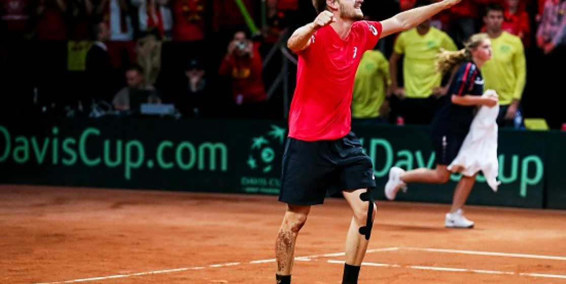 GOFFIN IN NEW TERRITORY GOING INTO SECOND DAVIS CUP FINAL