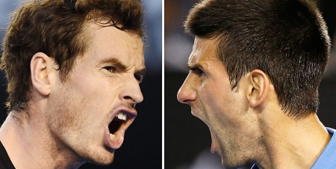 DJOKOVIC AND MURRAY CHAPTER FOUR AT AUSSIE OPEN
