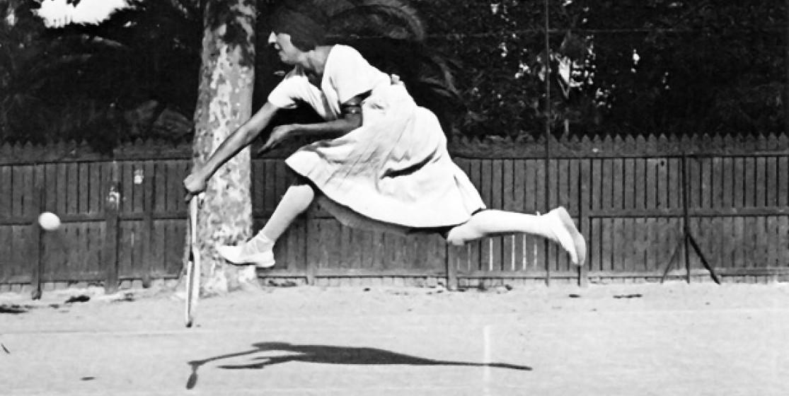 L'enfance azuréenne du tennis