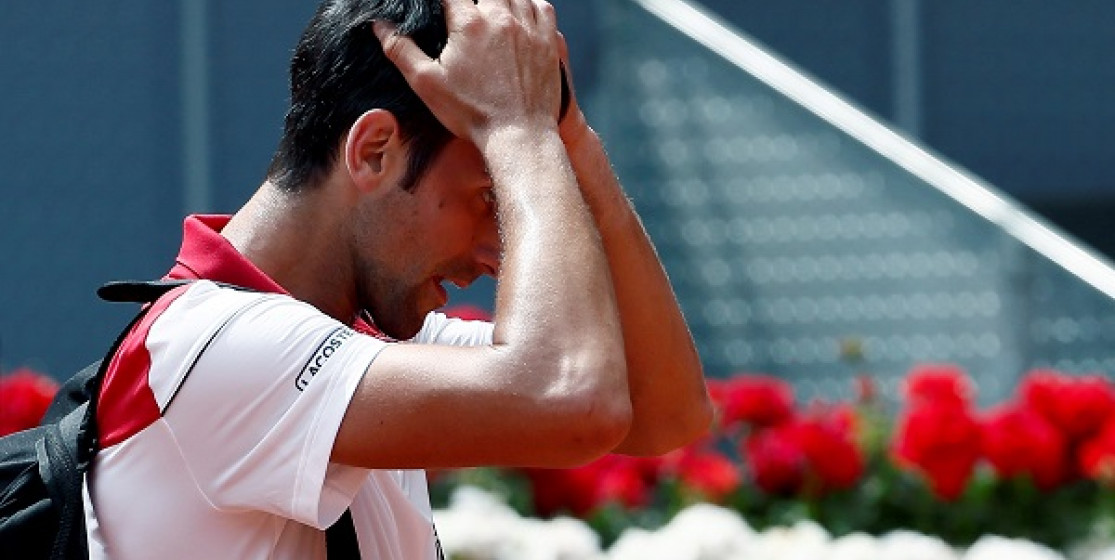 NOVAK TRYING TO RISE AGAIN