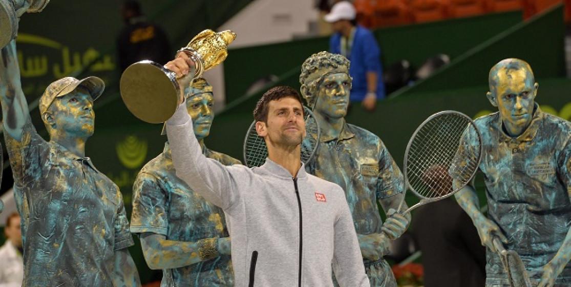 Une statue pour Djokovic