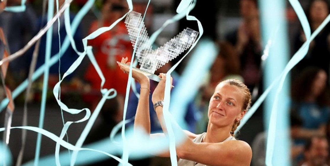 PETRA WON MADRID BUT DOES THAT MAKE HER A PARIS FAVOURITE?