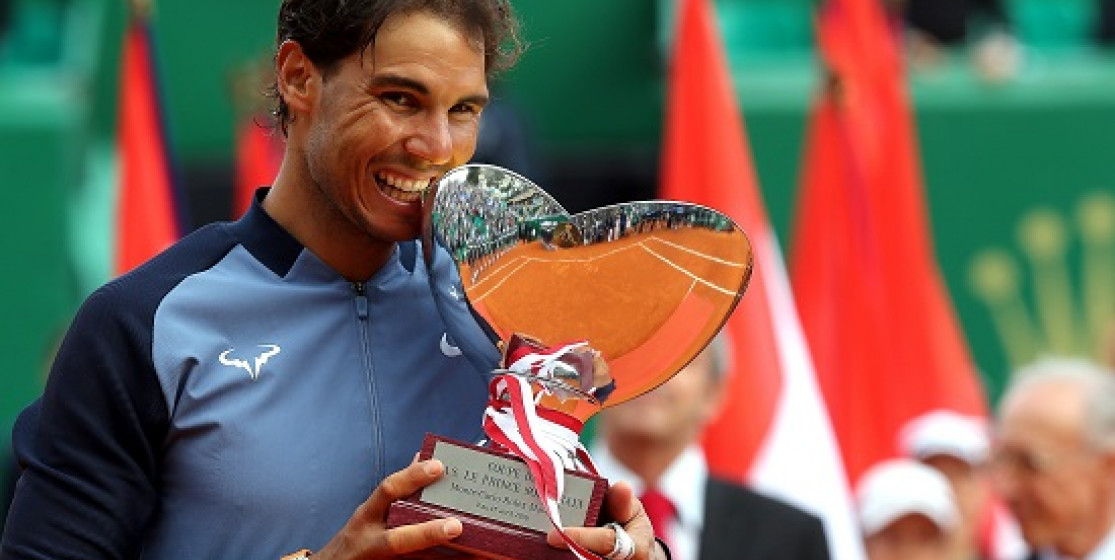 NADAL WINS MONTE CARLO FOR 9TH TIME