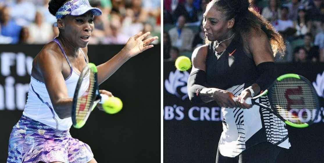 WILLIAMS SISTERS IN AUSSIE OPEN FINAL