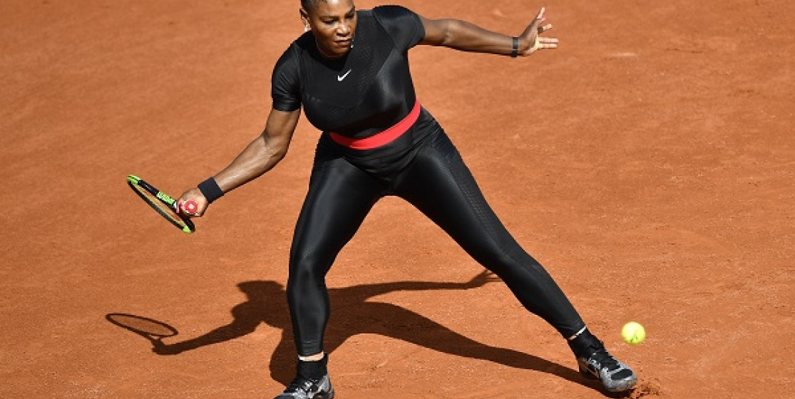SERENA WILLIAMS MADE HER RETURN TO THE MAJORS