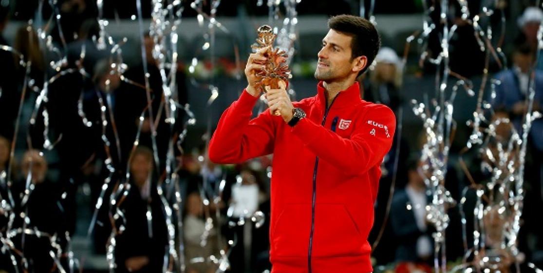 DJOKOVIC WINS 29TH ATP MASTERS 1000