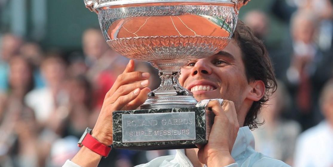 In 10 years of Roland Garros, Nadal has seen...
