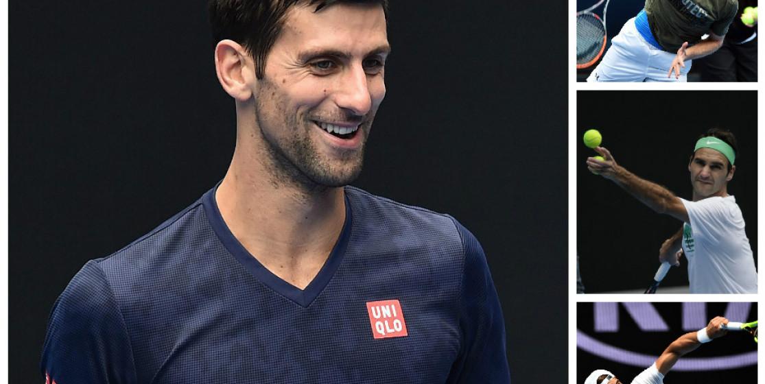 Que peuvent espérer Murray, Federer et Nadal en présence du Serbinator ?