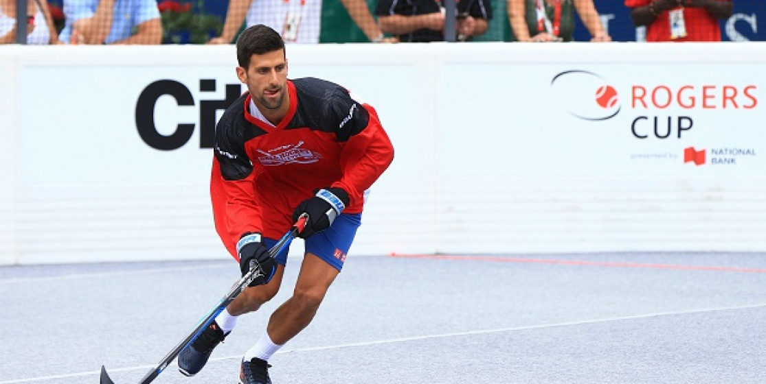 Djoko is back, hockey ?