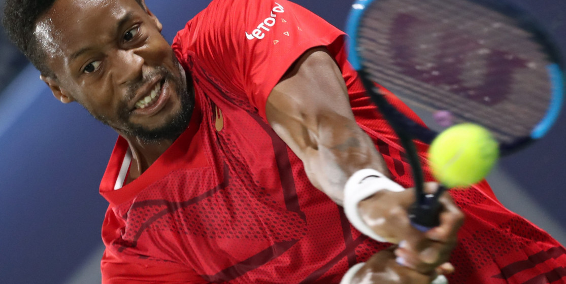 The tennis news (but not only) of the week: Gaël Monfils and « Miel » Gibson
