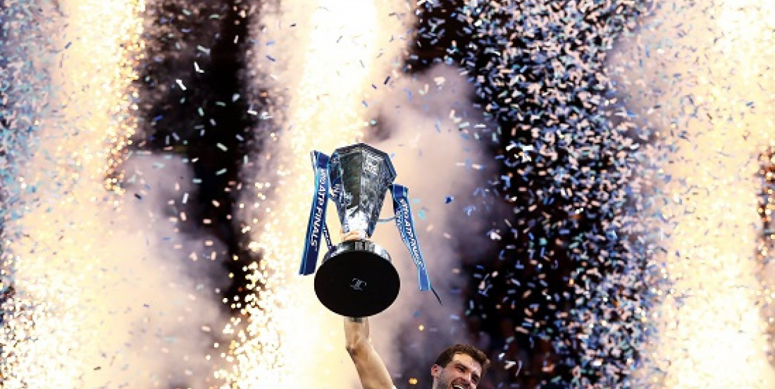 DIMITROV GAINS SUCCESS ON THE JOURNEY BACK