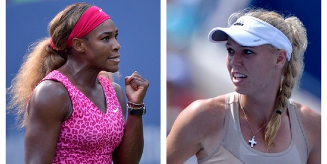 FRIENDS OFF COURT, RIVALS ON COURT - SERENA AND CARO AND THE US OPEN FINAL