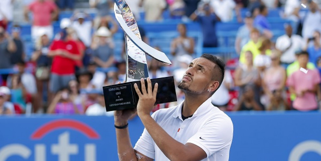 KYRGIOS LOOKED PRESIDENTIAL IN THE CAPITAL