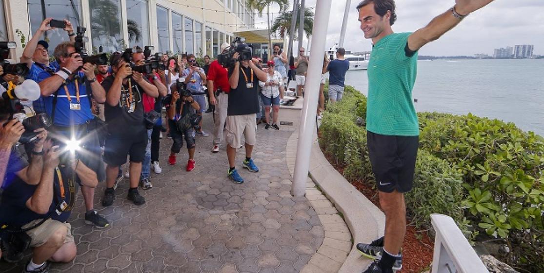 Roger Federer, the unsinkable