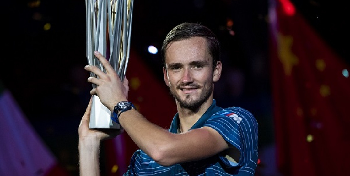 DANIIL MEDVEDEV CLAIMS ANOTHER TITLE