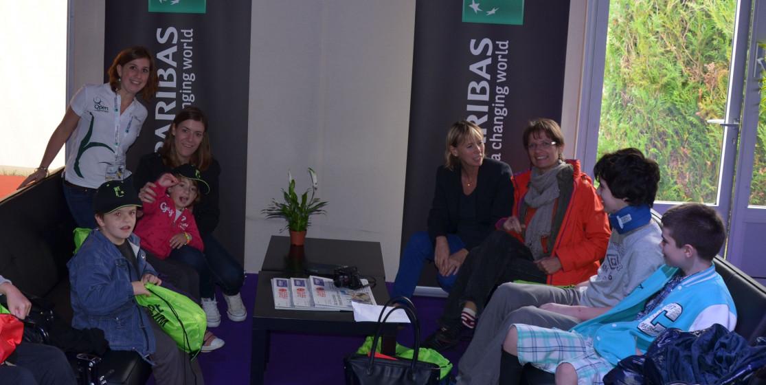 BNP Paribas présent à Rennes dans le cadre de son programme We Are Tennis Solidaire