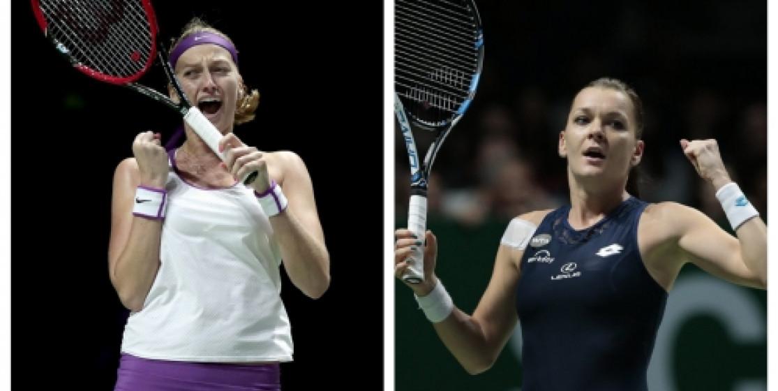 KVITOVA AND RADWANSKA IN YEAR-END FINAL