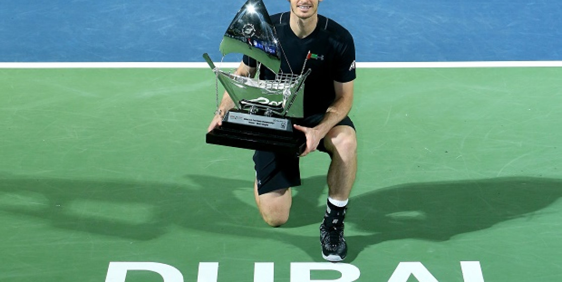 Le feu d'artifice Andy Murray