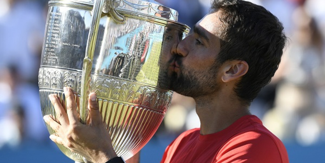 MARIN CILIC HOPES TO BE KING AT WIMBLEDON AFTER BEING KING OF QUEEN'S