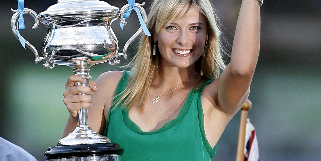 The tennis news (but not only) of the week: Sharapova and lots of cheese