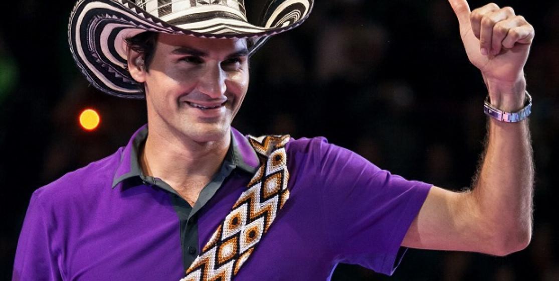 Everybody loves Roger Federer
