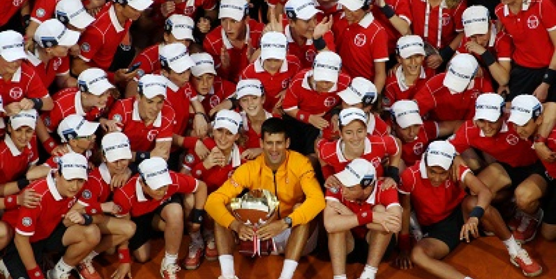 DJOKOVIC REIGNS AT MONTE CARLO COUNTRY CLUB