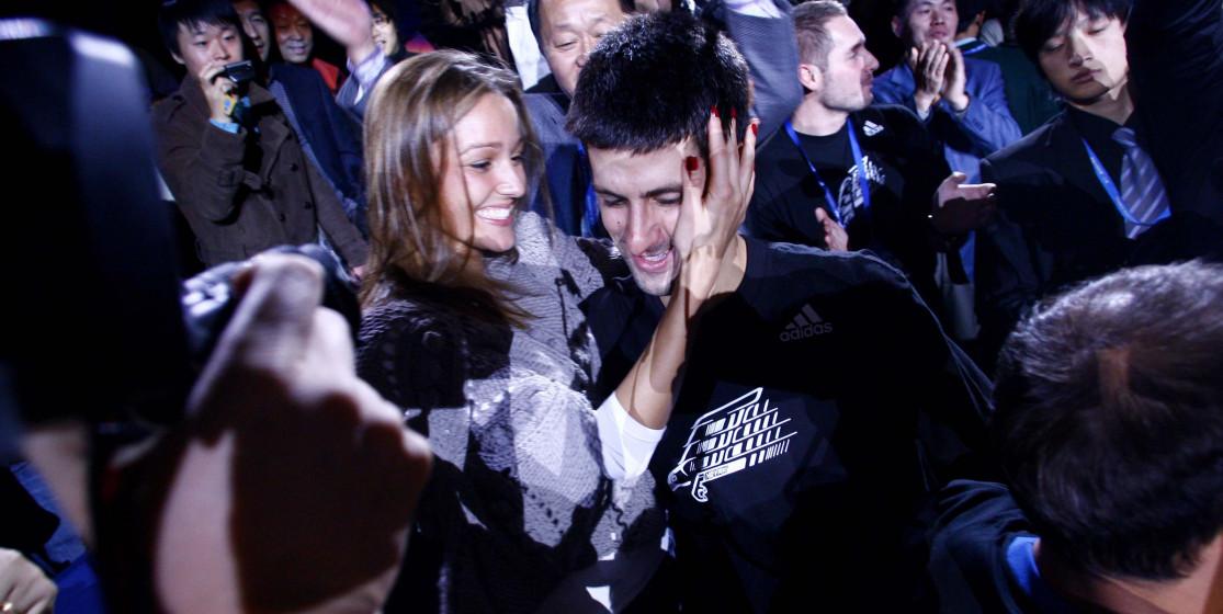 Le mariage de Novak Djokovic et Jelena Ristic